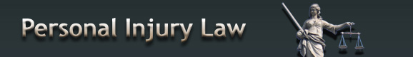 Personal Injury Attorney Law Banner